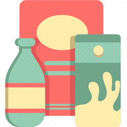 grocery icon groceries items icons 512px