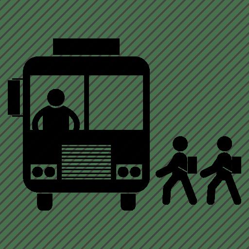 Bus, charabanc, coach, motorbus, motorcoach, passenger