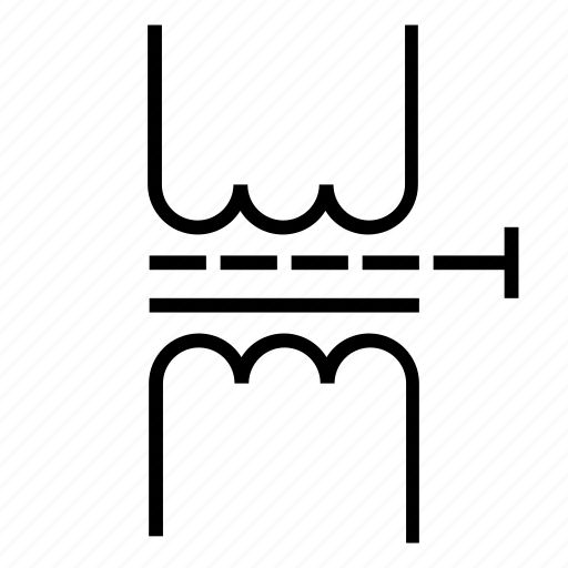 Component, electronic, ferromagnetic, single-phase