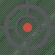 crosshairs gps target icon
