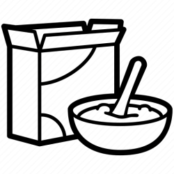 cereal box clipart breakfast icon meal drawing icons nutritious open food editor getdrawings svg engine clipground