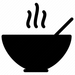 soup icon bowl menu spoon kitchen shape salt restaurant starter drink pepper icons food grid creative drinks editor open