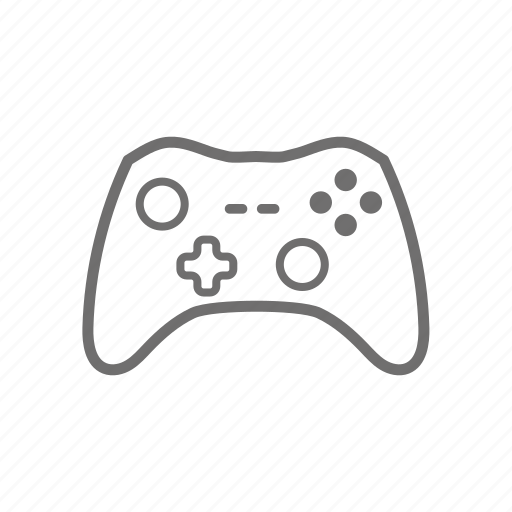Ps4 Controller Outline Sketch Coloring Page