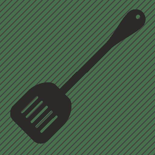 kitchen spatula cherry wood cabinets cook instrument icon