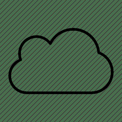 Cloud internet provider server sky icon