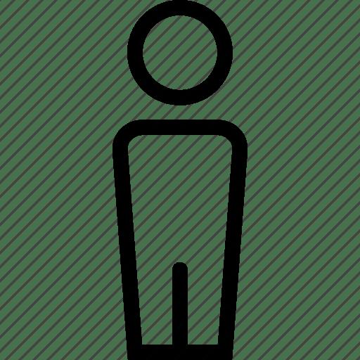 Human Icon Png White