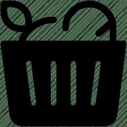 Basket bake bread food fruit icon Download on Iconfinder