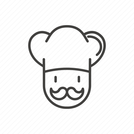 Chef, cook, food, italian, pizza, pizzeria, restaurant icon