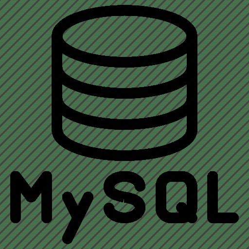 Database, hosting, mysql, server, storage icon