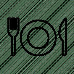 icon restaurant food menu dish icons cafe restaurants data editor open eden garden