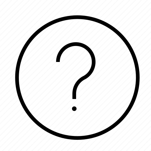 About, answer, faq, help, information, question, support icon
