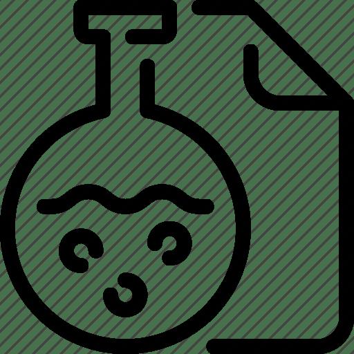 Chemistry, flasks, laboratory, science, test, tube icon