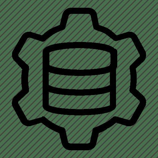 Database, server, settings icon