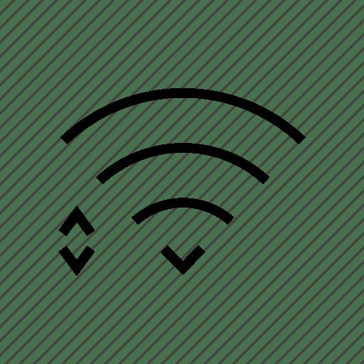 Internet, level, maximum, network, signal, wifi icon