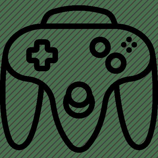 Controller, device, gadget, nintendo, technology icon