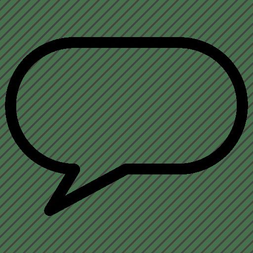 Bubble, chat, comment, communication, creative, grid, line