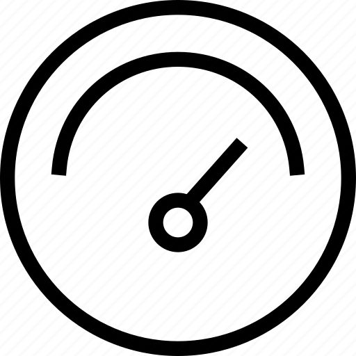 Admin panel, dash, gauge, indicator, sensor, settings icon