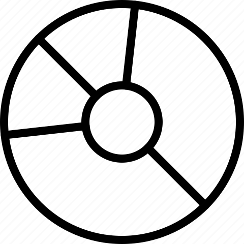 Cd, disc, dvd, line, write icon