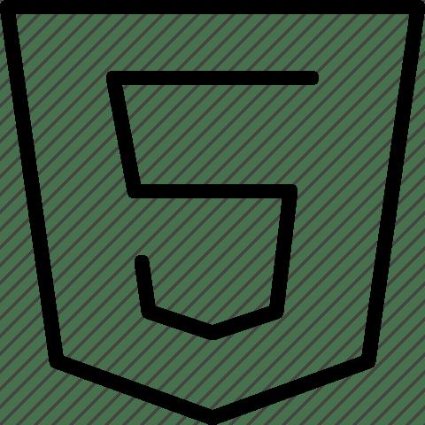 Html5, web standards icon