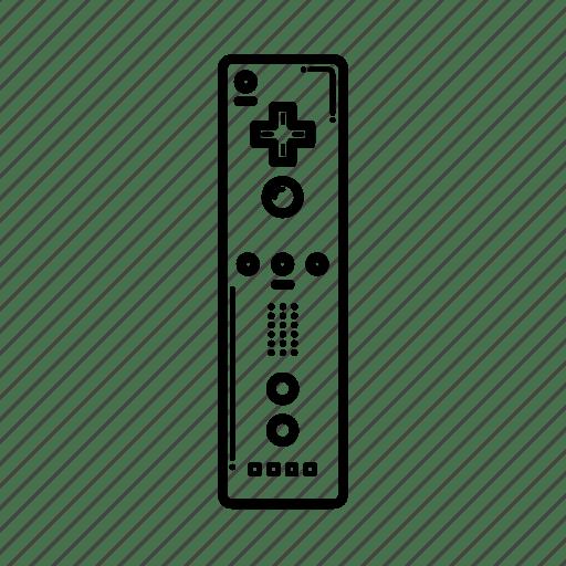 Gaming, nintendo, remote, wii, wiimote icon