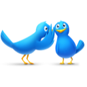 Twitter birds via Icon Finder