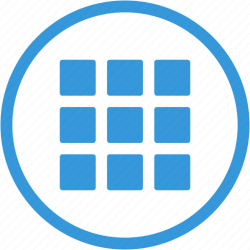icon apps menu grid options tile text icons tiles creative interface open ui editor web mobile iconfinder