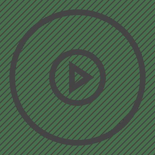 Editing, film, media, movie, multimedia, music, video icon