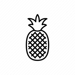 Food fruit pineapple icon Download on Iconfinder