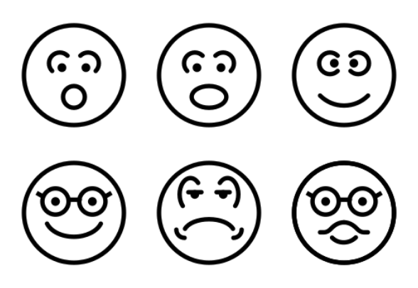 Smiley Vol 2 icons by Creative Stall