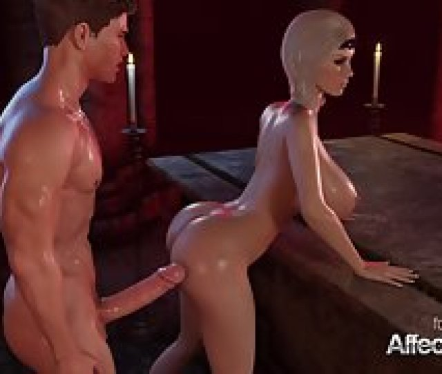 Blonde Big Tits Vampire Fucked Hard By A Beefy 3d Cock