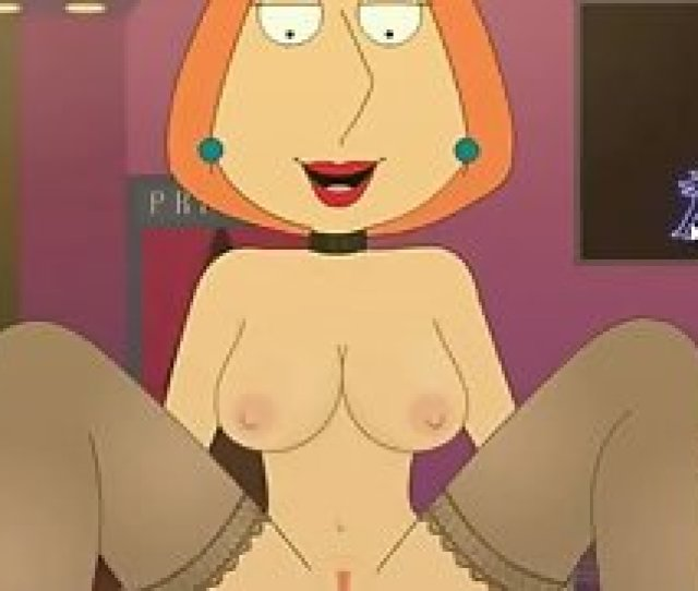 Lois Griffin Aggressively Sits On Your Cock With Her Asshole