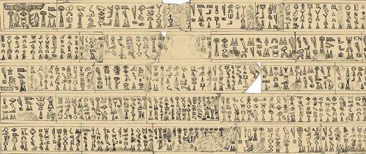 Текст о Троянской войне на лувийском языке, найденный в Турции в конце 19 века © Luwian Society