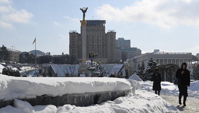 Вид площади Независимости в Киеве. Архивное фото