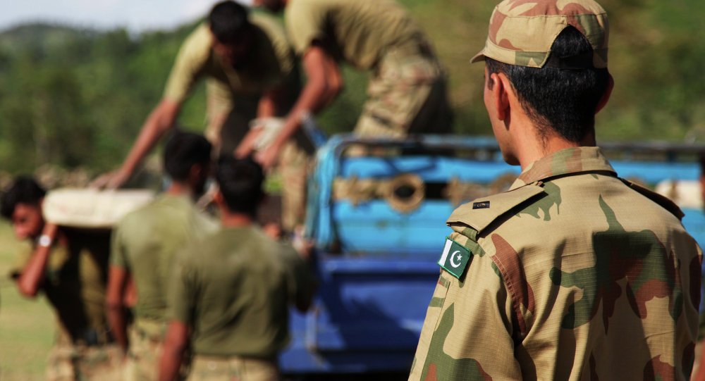 The Chinese Army is training Pakistani military personnel near the troubled Rajouri sector of the international border between India and Pakistan.