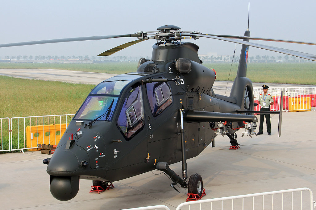 Harbin Z-19 at the China Helicopter Exposition
