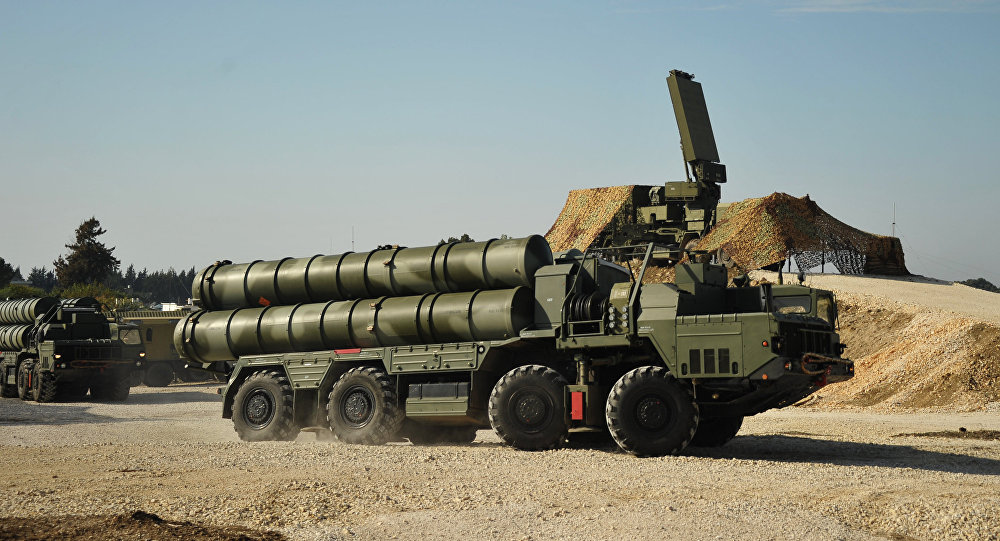 Russian S-400 air defence missile system
