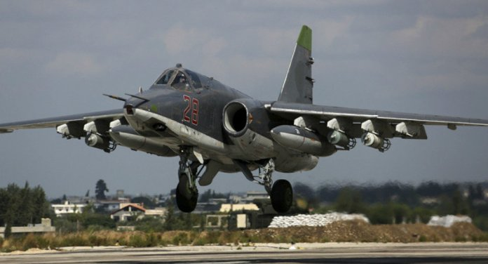 Combat flights of the Russian aviation in Syria