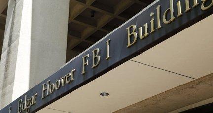 The FBI headquarters building in Washington, DC.