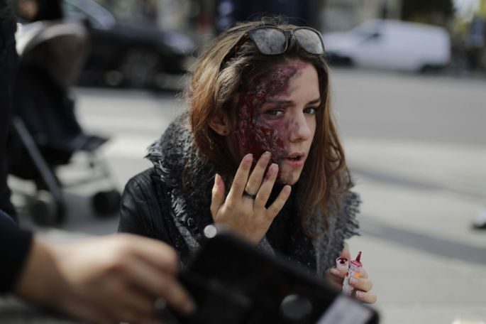 Zombies in Paris! Hundreds of 'Living Dead' Invade the City