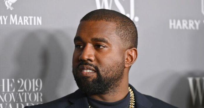 American rapper Kanye West
