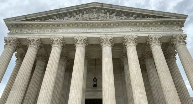A general view of the United States Supreme Court in Washington, U.S., May 3, 2020. Picture taken May 3, 2020.