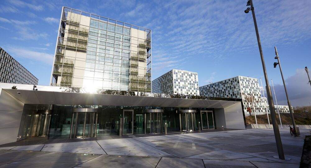 This file photo taken on November 23, 2015 shows the building of the International Criminal Court (ICC) in The Hague, The Netherlands