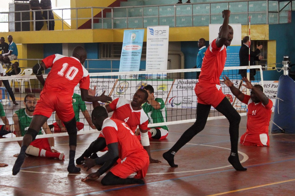 Kenya beat Algeria 3-2 to keep pace with Egypt and Rwanda in the men's ParaVolley Africa Sitting Volleyball Championships ©Rwanda ParaVolley