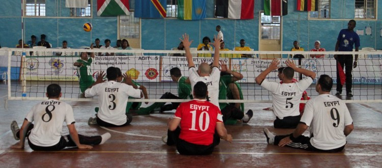 Egypt's men's team maintained their 100 per cent record with a 3-0 win against Algeria