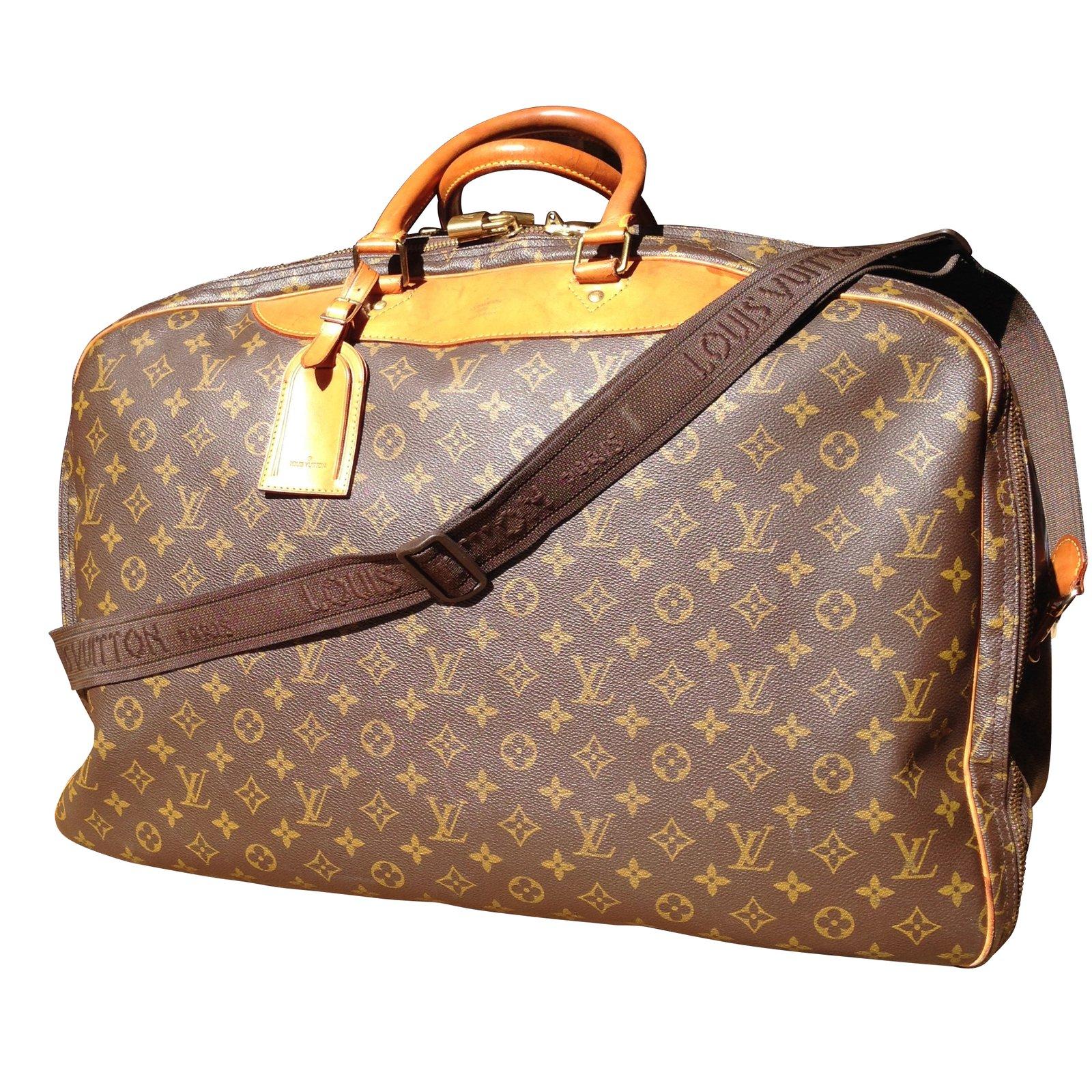 Sacs De Voyage Louis Vuitton Aliz 3 Poches Synthtique