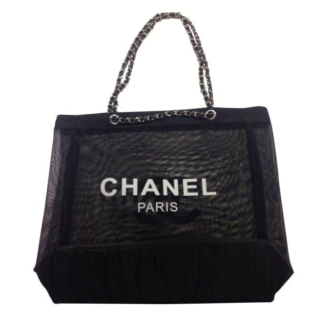 626e29c64de78b Chanel Vip Gift Tote Bag Gifts Polyamide Black Ref 54512