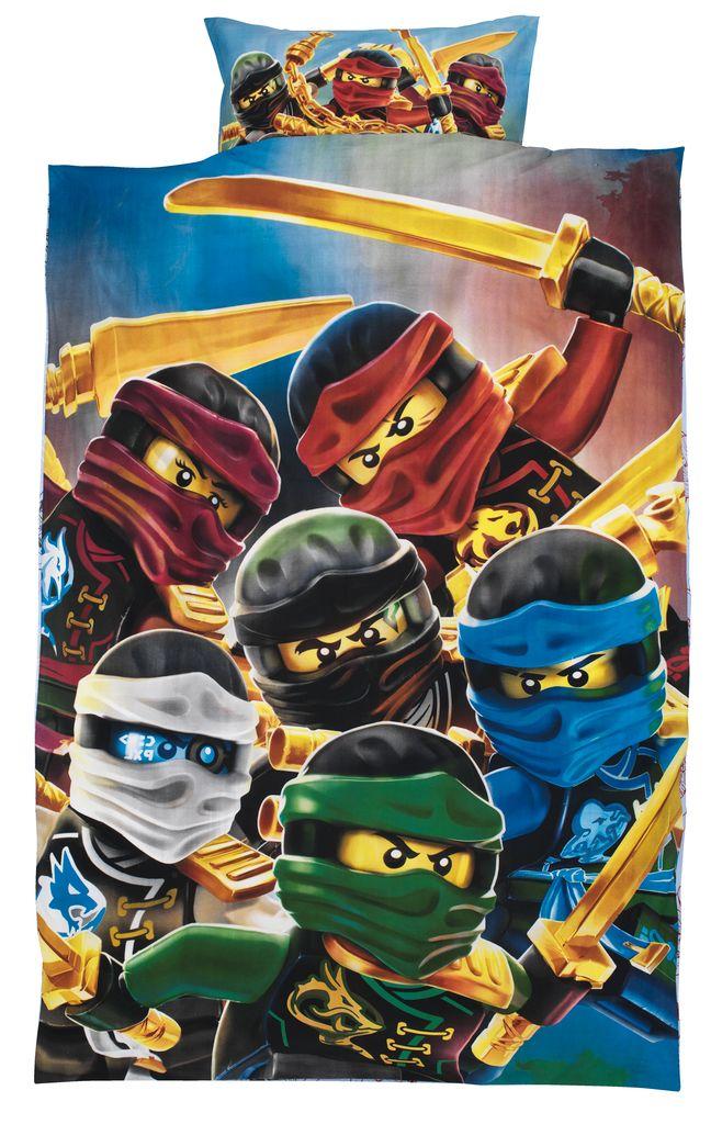 Dekbedovertrek LEGO NINJAGO 140x200  JYSK