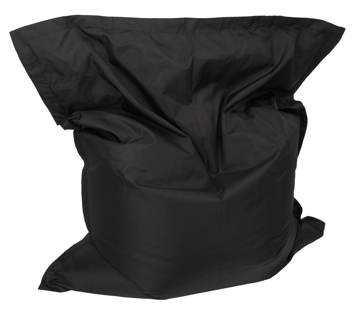 sofaer leather sofa nova scotia sekkestol manna 135x50x160 svart   jysk