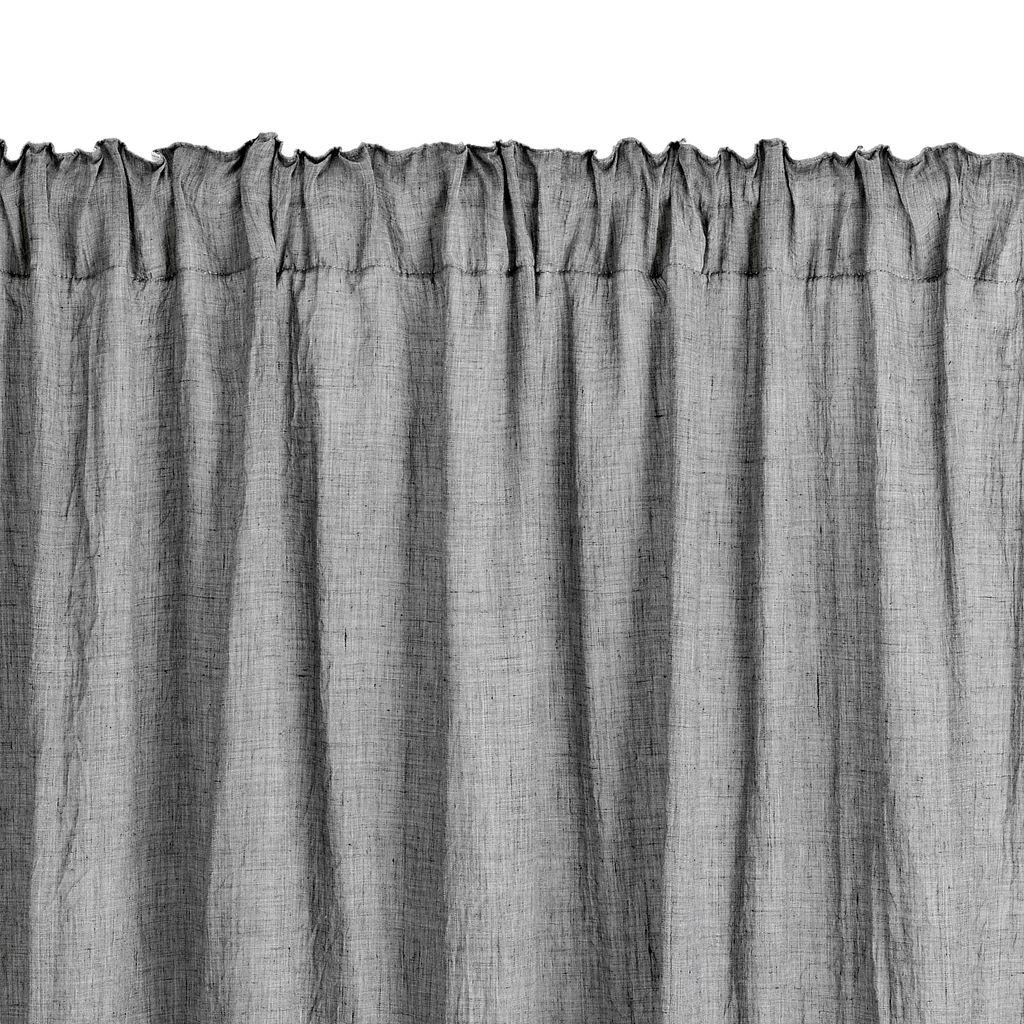 Gordijn HIRSHOLM 1x135x245 grijs  JYSK