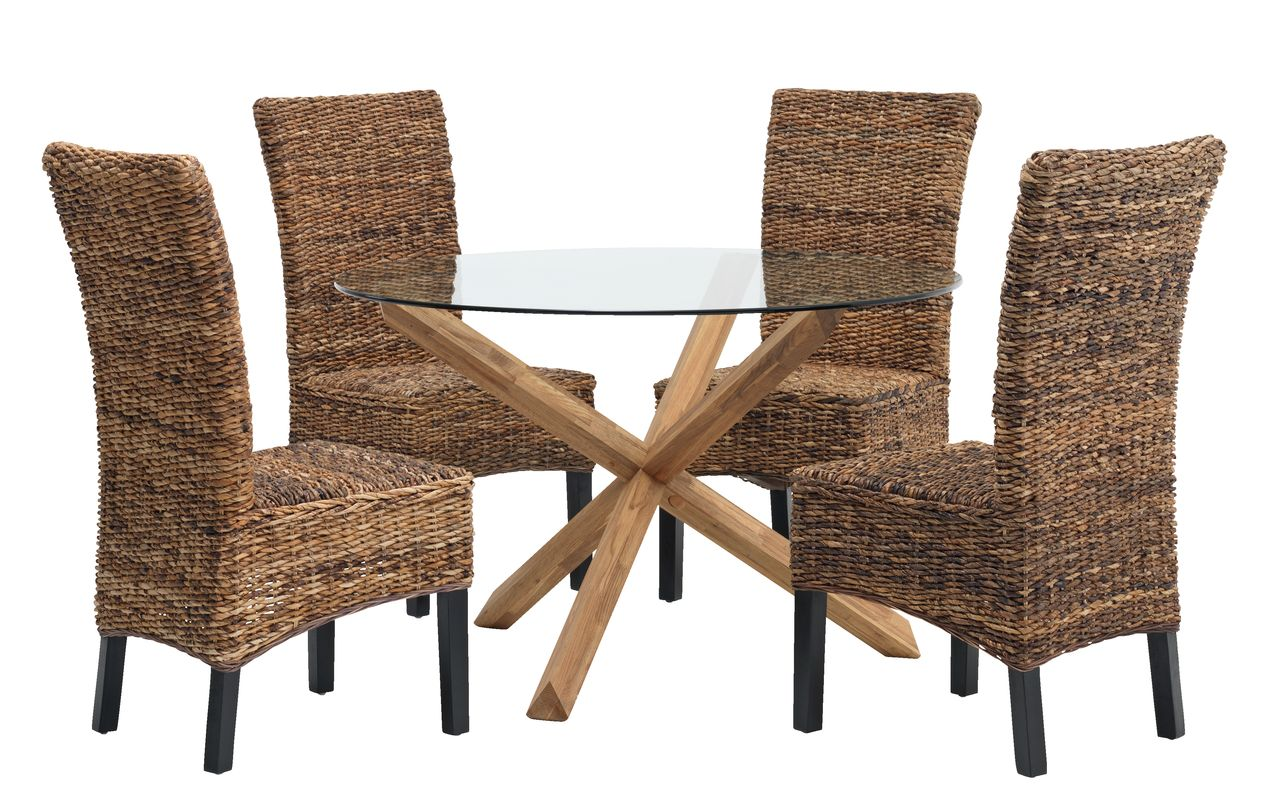 jysk dining room chair covers stand test results agerby d119 glass 43 4 torrig natural